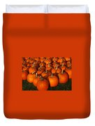 Pumpkin Strike Duvet Cover