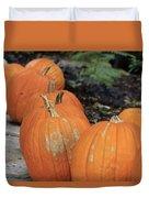 Pumpkins Galore V2 Duvet Cover