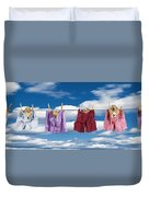 Puppies Hanging Out Duvet Cover
