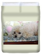 Puppy Dog Eyes Duvet Cover