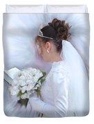 Pure Spotless Bride Duvet Cover