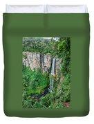 Purlingbrook Falls In Australia Duvet Cover