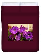 Purple And More Purple Duvet Cover