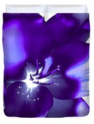 Purple Blast Duvet Cover