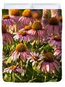 Purple Coneflower Duvet Cover