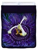 Purple Flower 3 Duvet Cover