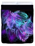 Purple Fusion Duvet Cover