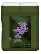 Purple Joy Duvet Cover