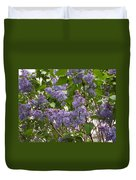 Purple Lilacs Duvet Cover