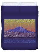 Purple Mountain Majesty Sunset Duvet Cover