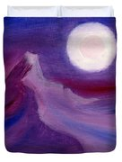 Purple Night 2 Duvet Cover