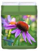 Purple Pedals Duvet Cover