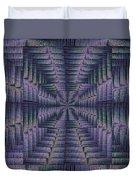 Purple Portal Duvet Cover