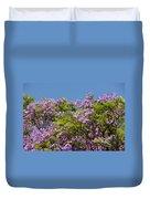Purple Prelude Duvet Cover