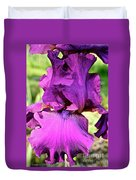 Purple Purity Duvet Cover