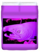 Purple Salmon Duvet Cover
