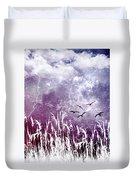 Purple Skies Duvet Cover