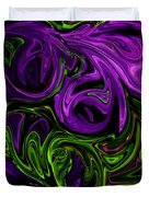 Purple Transformation Duvet Cover