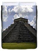 Pyramid  Of Kukulkan  Duvet Cover