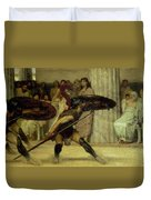 Pyrrhic Dance Duvet Cover