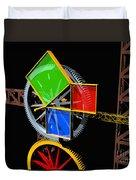 Pythagorean Machine Landscape 1 Duvet Cover