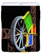 Pythagorean Machine Portrait 1 Duvet Cover