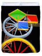 Pythagorean Machine Portrait 7 Duvet Cover
