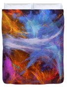 Quadra-06 Duvet Cover