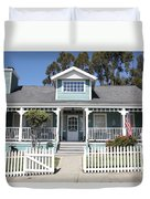 Quaint House Architecture - Benicia California - 5d18817 Duvet Cover