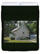 Quaker Church Pencil Duvet Cover