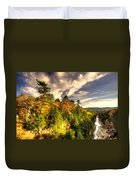 Quechee Gorge In The Fall  Duvet Cover