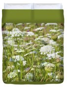 Queen Anne's Lace In All Its Glory Duvet Cover