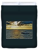 Queen City Ferry Duvet Cover