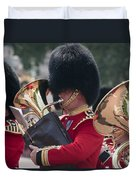Queens Guards Band Duvet Cover