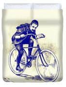 Quest For Speed Duvet Cover