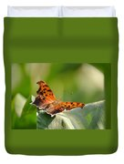 Question Mark Butterfly Duvet Cover
