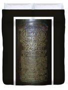 Quick Aid Extinguisher Duvet Cover