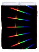 Quicklime Spectra Limelight Duvet Cover by Ted Kinsman