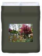 Quiet Autumn Pond Duvet Cover