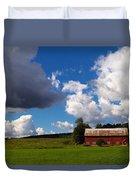 Quintessential Vermont Duvet Cover