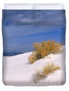 Windswept - White Sands National Monument Duvet Cover