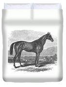 Racehorse, 1867 Duvet Cover