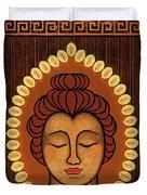 Radiant Peace Duvet Cover