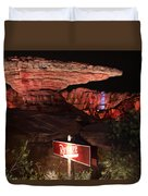 Radiator Racers - Cars Land - Disneyland Duvet Cover