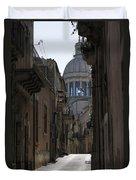 Ragusa Ibla Duvet Cover