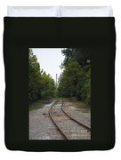 Rail To The Forest Duvet Cover