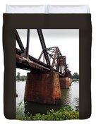 Railroad Bridge 1 Duvet Cover