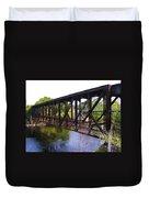 Railroad Bridge Duvet Cover