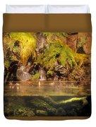 Rain Forest Pool Duvet Cover