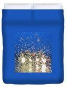 Rain On My Windshield Duvet Cover